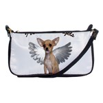 Angel Chihuahua Shoulder Clutch Bags Front