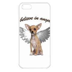 Angel Chihuahua Apple iPhone 5 Seamless Case (White)