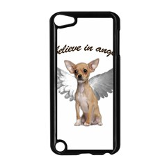 Angel Chihuahua Apple iPod Touch 5 Case (Black)
