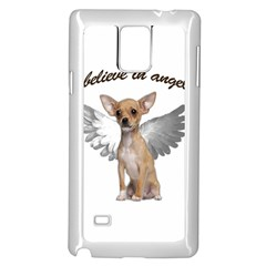 Angel Chihuahua Samsung Galaxy Note 4 Case (White)