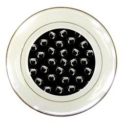 Pug dog pattern Porcelain Plates