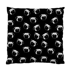 Pug dog pattern Standard Cushion Case (Two Sides)