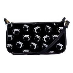 Pug dog pattern Shoulder Clutch Bags