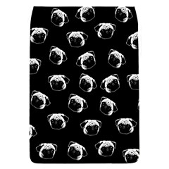 Pug dog pattern Flap Covers (S)