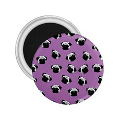 Pug dog pattern 2.25  Magnets