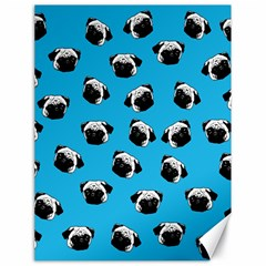 Pug dog pattern Canvas 18  x 24
