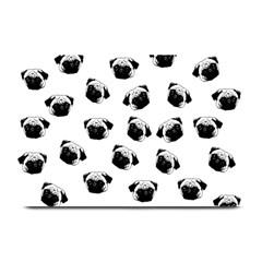 Pug dog pattern Plate Mats