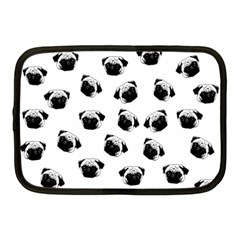Pug dog pattern Netbook Case (Medium)
