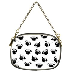 Pug dog pattern Chain Purses (Two Sides)