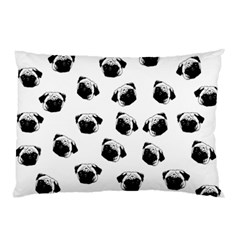 Pug dog pattern Pillow Case (Two Sides)