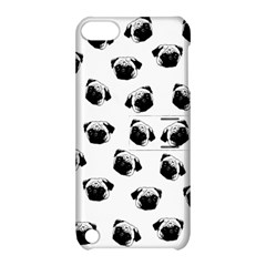 Pug dog pattern Apple iPod Touch 5 Hardshell Case with Stand