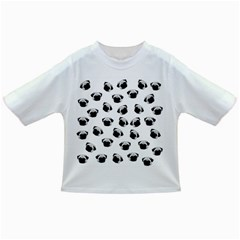 Pug dog pattern Infant/Toddler T-Shirts