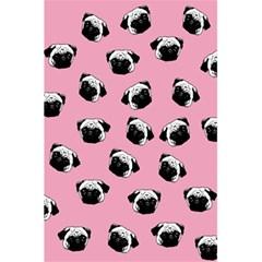 Pug dog pattern 5.5  x 8.5  Notebooks