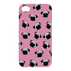 Pug dog pattern Apple iPhone 4/4S Hardshell Case