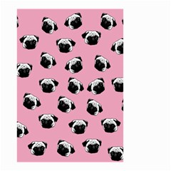 Pug dog pattern Small Garden Flag (Two Sides)