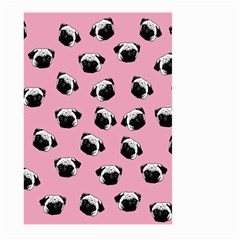 Pug dog pattern Large Garden Flag (Two Sides)