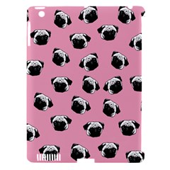 Pug dog pattern Apple iPad 3/4 Hardshell Case (Compatible with Smart Cover)