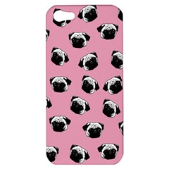 Pug dog pattern Apple iPhone 5 Hardshell Case