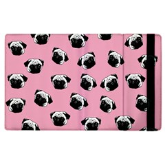 Pug dog pattern Apple iPad 2 Flip Case