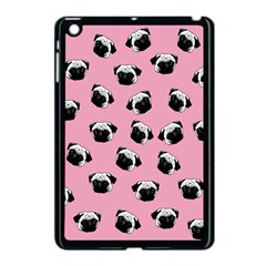 Pug dog pattern Apple iPad Mini Case (Black)