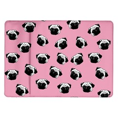 Pug dog pattern Samsung Galaxy Tab 10.1  P7500 Flip Case