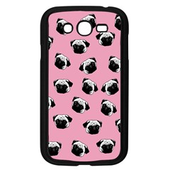 Pug dog pattern Samsung Galaxy Grand DUOS I9082 Case (Black)