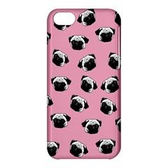 Pug dog pattern Apple iPhone 5C Hardshell Case