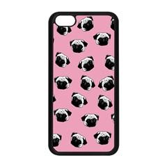 Pug dog pattern Apple iPhone 5C Seamless Case (Black)