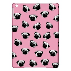 Pug dog pattern iPad Air Hardshell Cases