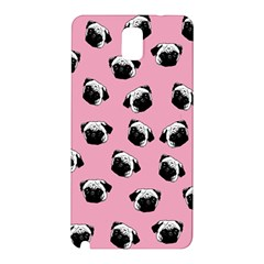 Pug dog pattern Samsung Galaxy Note 3 N9005 Hardshell Back Case