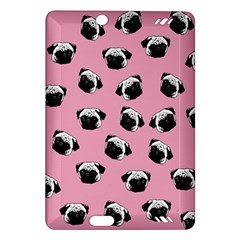 Pug dog pattern Amazon Kindle Fire HD (2013) Hardshell Case