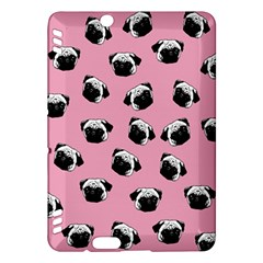 Pug dog pattern Kindle Fire HDX Hardshell Case
