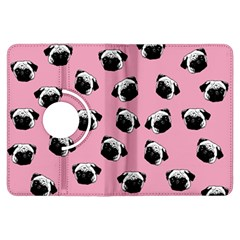 Pug dog pattern Kindle Fire HDX Flip 360 Case