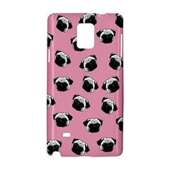 Pug dog pattern Samsung Galaxy Note 4 Hardshell Case