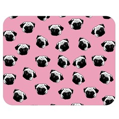 Pug dog pattern Double Sided Flano Blanket (Medium)