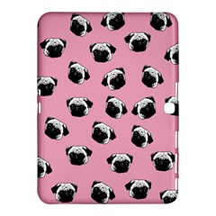 Pug dog pattern Samsung Galaxy Tab 4 (10.1 ) Hardshell Case