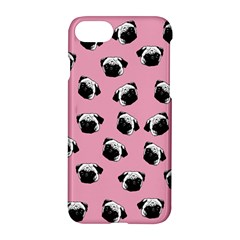 Pug dog pattern Apple iPhone 7 Hardshell Case