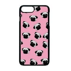 Pug dog pattern Apple iPhone 7 Plus Seamless Case (Black)