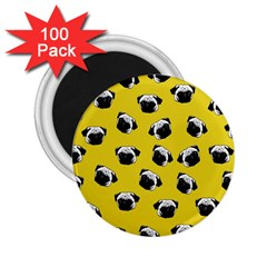 Pug dog pattern 2.25  Magnets (100 pack)