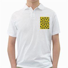 Pug dog pattern Golf Shirts