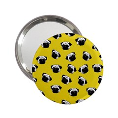 Pug dog pattern 2.25  Handbag Mirrors