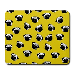 Pug dog pattern Large Mousepads