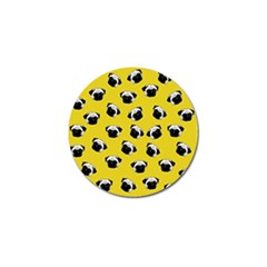 Pug dog pattern Golf Ball Marker (10 pack)