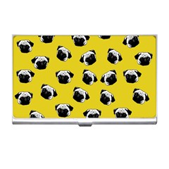 Pug dog pattern Business Card Holders