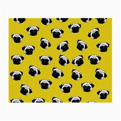 Pug dog pattern Small Glasses Cloth (2-Side)