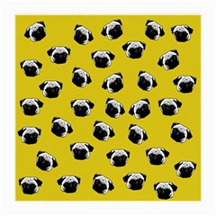 Pug dog pattern Medium Glasses Cloth (2-Side)