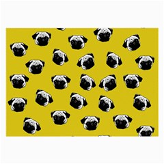Pug dog pattern Large Glasses Cloth
