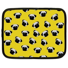 Pug dog pattern Netbook Case (XXL)