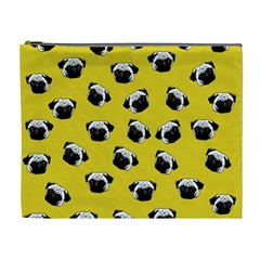 Pug dog pattern Cosmetic Bag (XL)