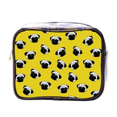 Pug dog pattern Mini Toiletries Bags